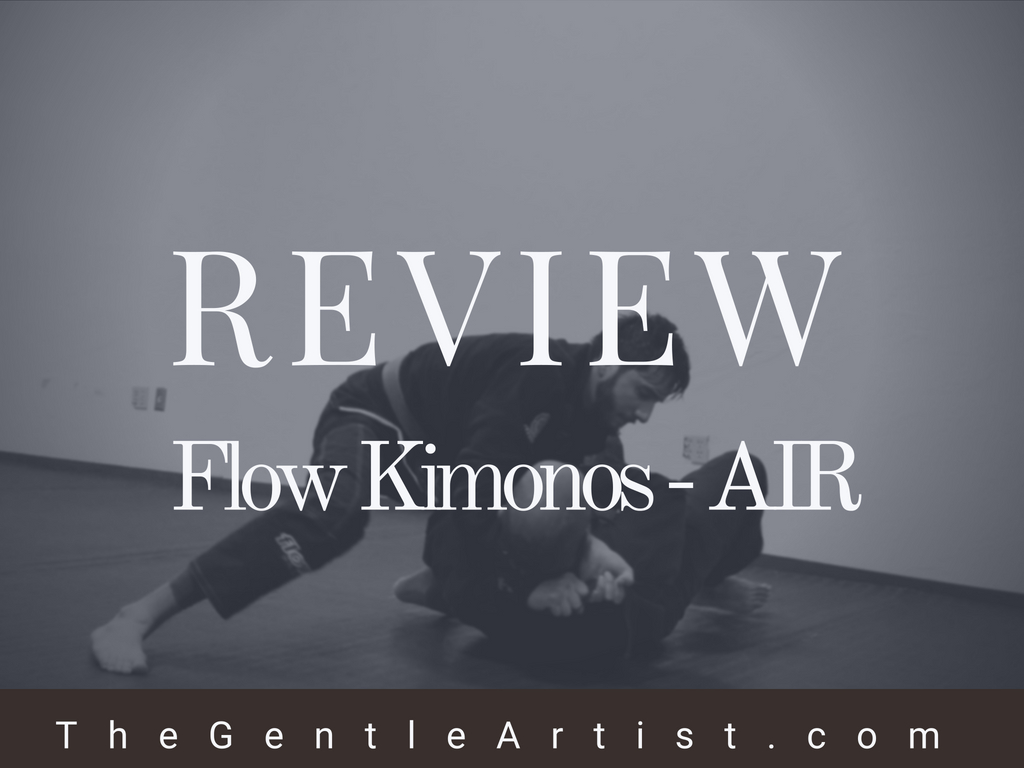 "review of the flow kimonos lightest bjj competition gi ""air"""