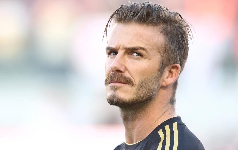 Capelli e Barba volto squadrato - David Beckham