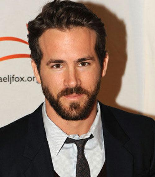 Volto triangolo inverso - Ryan Reynolds