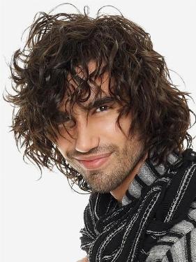 Avere capelli mossi uomo