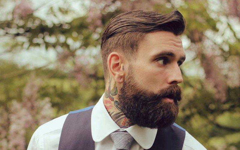 barba hipster lunga