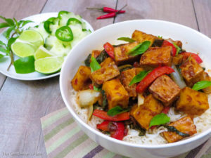 Vegan Pad Ka Prao (Thai Chili Garlic Tofu) | The Gentleman