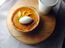 Today's Pie of the Day Spiced Pumpkin - apple pie and creme fraiche ice cream at Restaurant Michael Schwartz