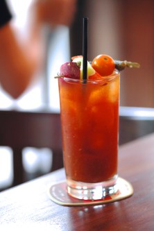 House Bloody Mary (Michael's Genuine® Pub) Tito's vodka, Michael's house mix & pickles