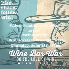 #WineBarWars