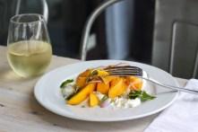 Mango and Stracciatella Salad,