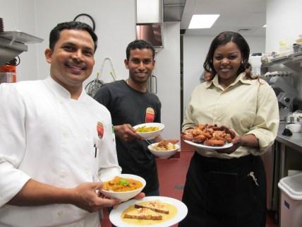 Tony, Raj and Prudence!