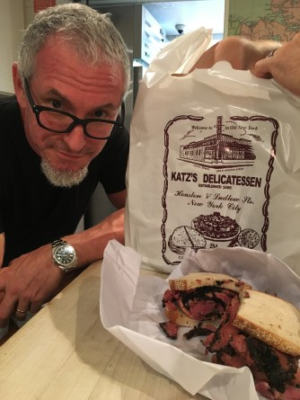 Pastrami on Schwartz, on June 2 prepping for his James Beard House dinner with MGFD.
