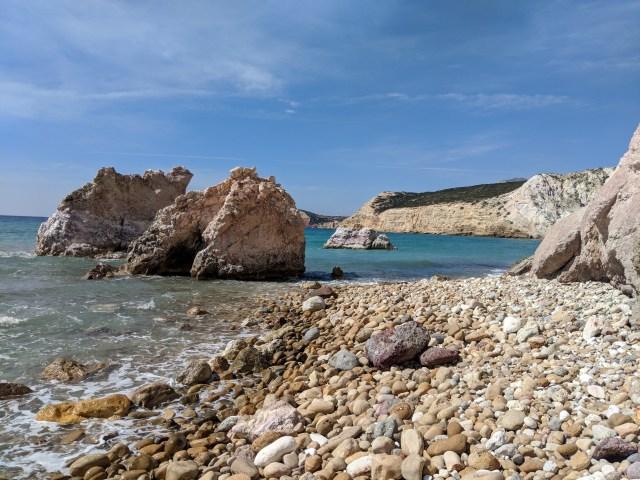Firiplaka Beach Milos Greece