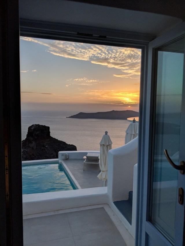 Greek Itinerary Santorini Astro Suites