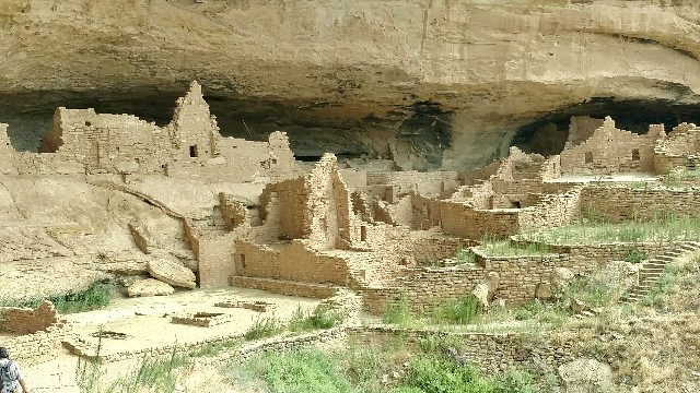 Cliff dwelling at Mesa Verde