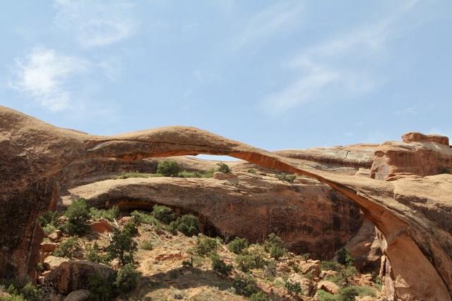 Landscape arch in Utah