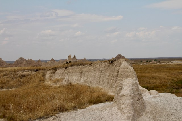 The Notch Trail at Badlands.   Hiking the Black Hills