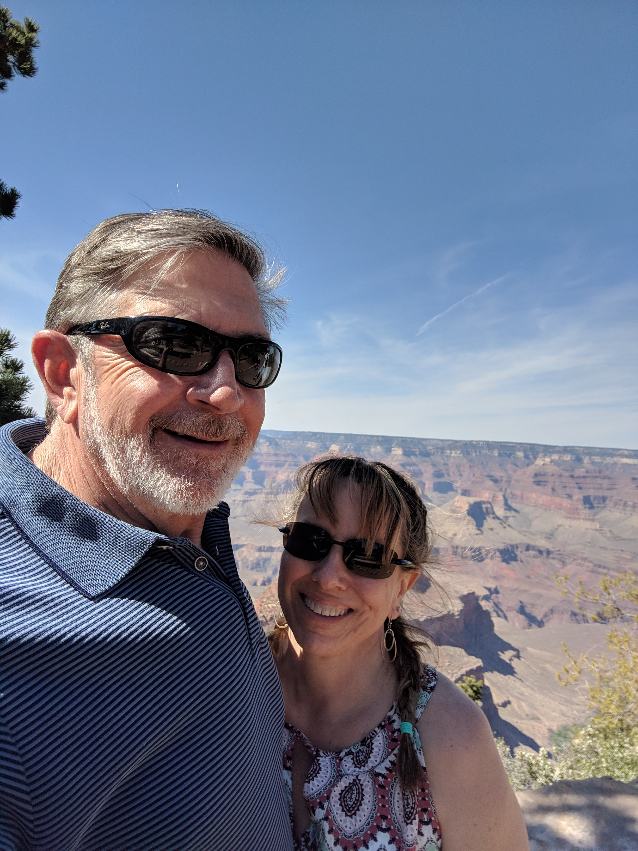 Couple at Grand Canyon