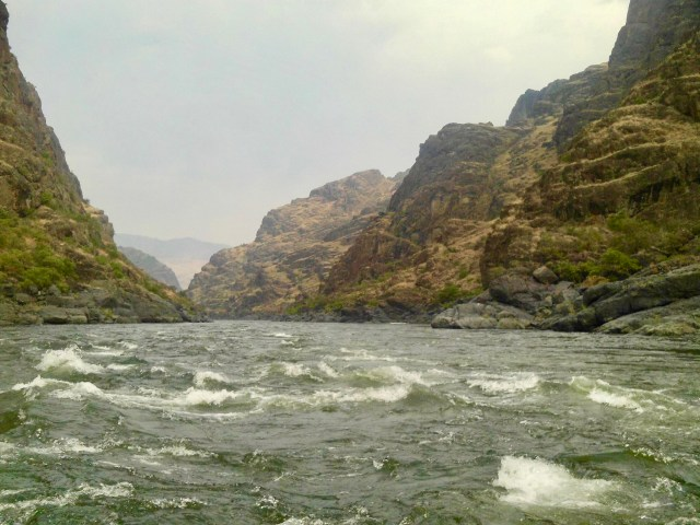 Rapids on the Snake River
