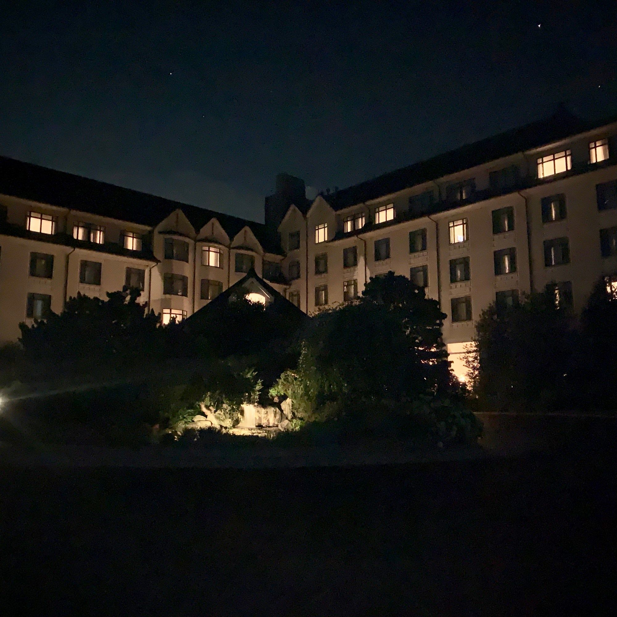 Inn at Biltmore at Night