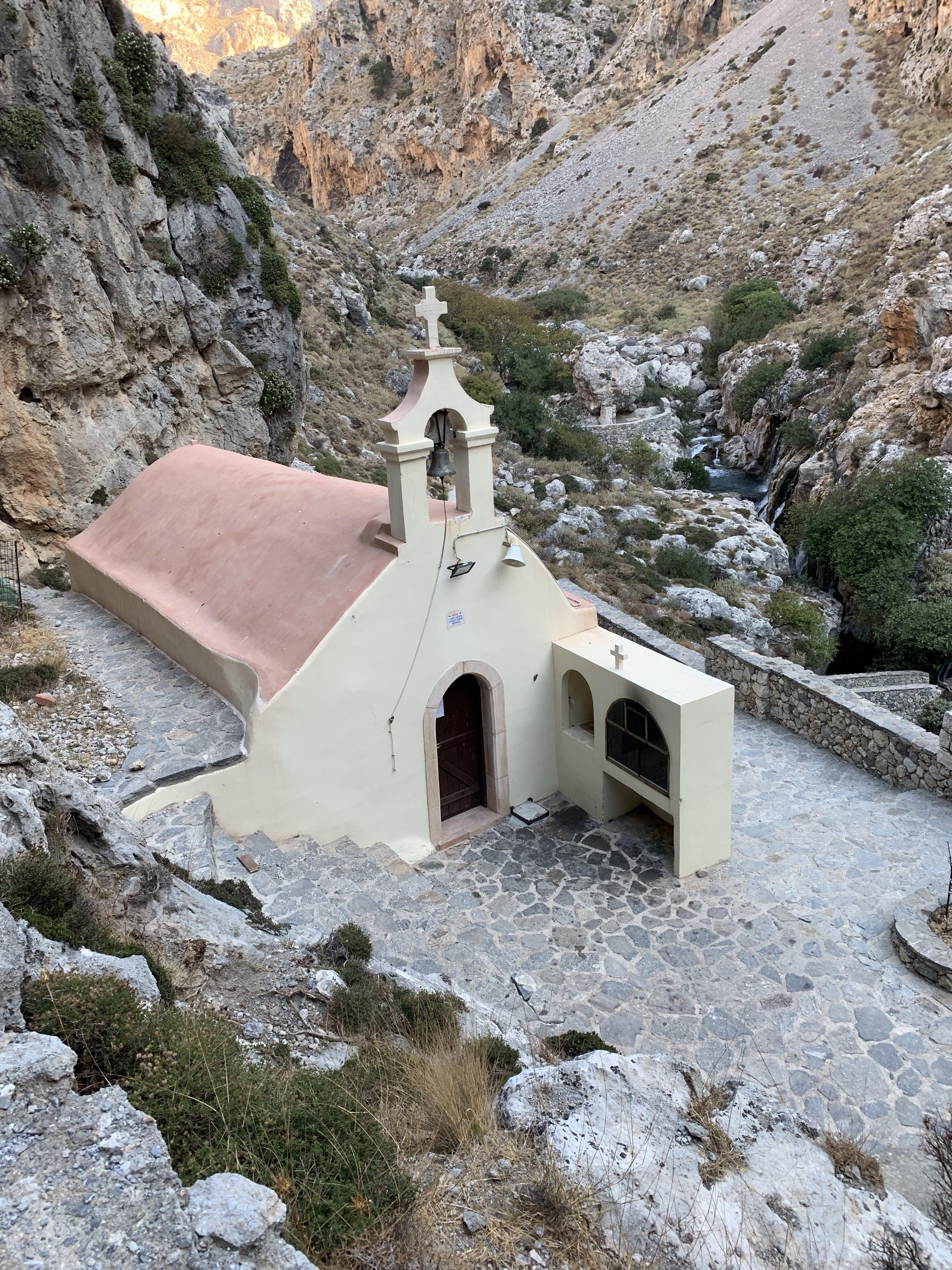 Church at Kourtaliotiko Gorge