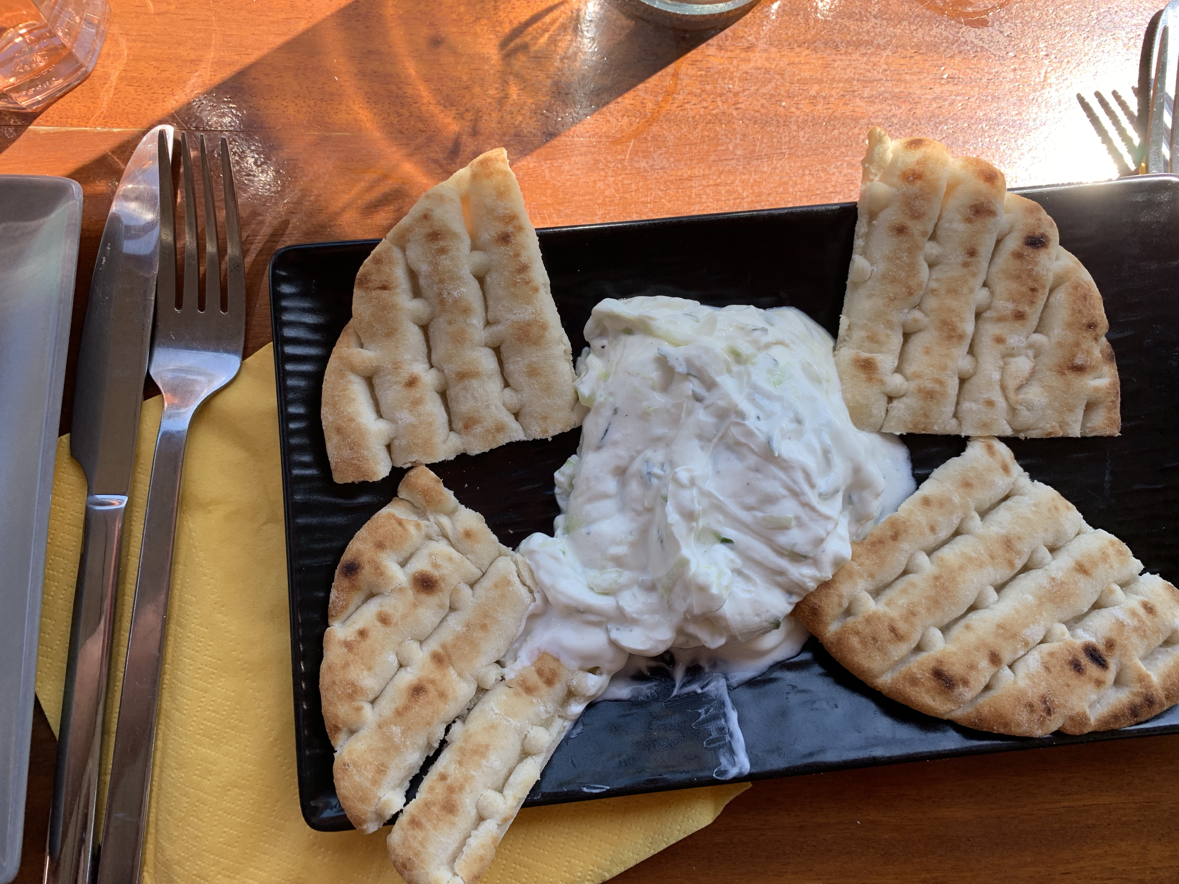 Tzatziki and Bread