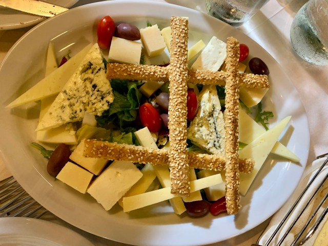 Cheese Tray Athens Greece
