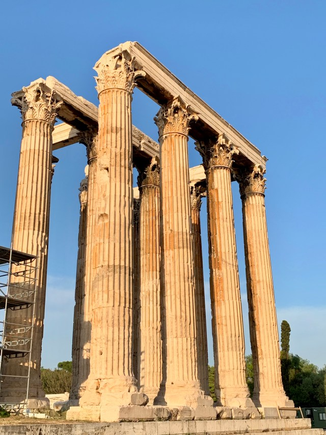 Olympian Temple of Zeus in Athens