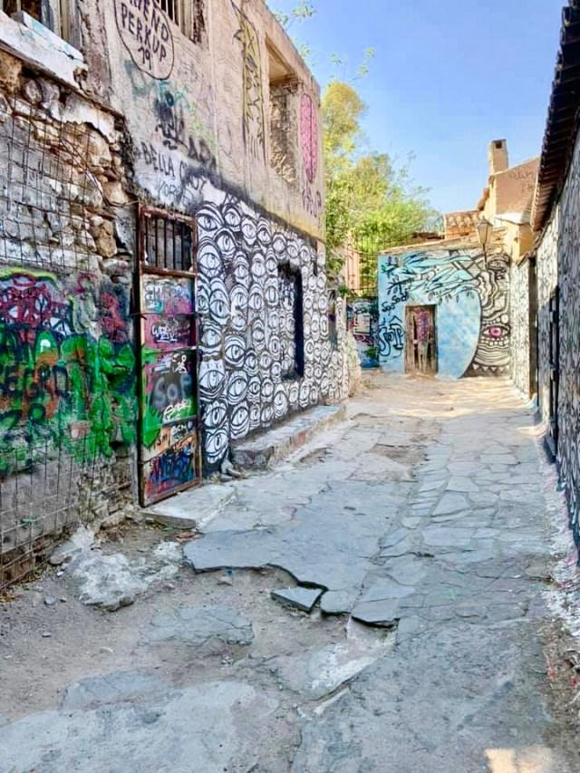 Anafiotika in Athens Greece