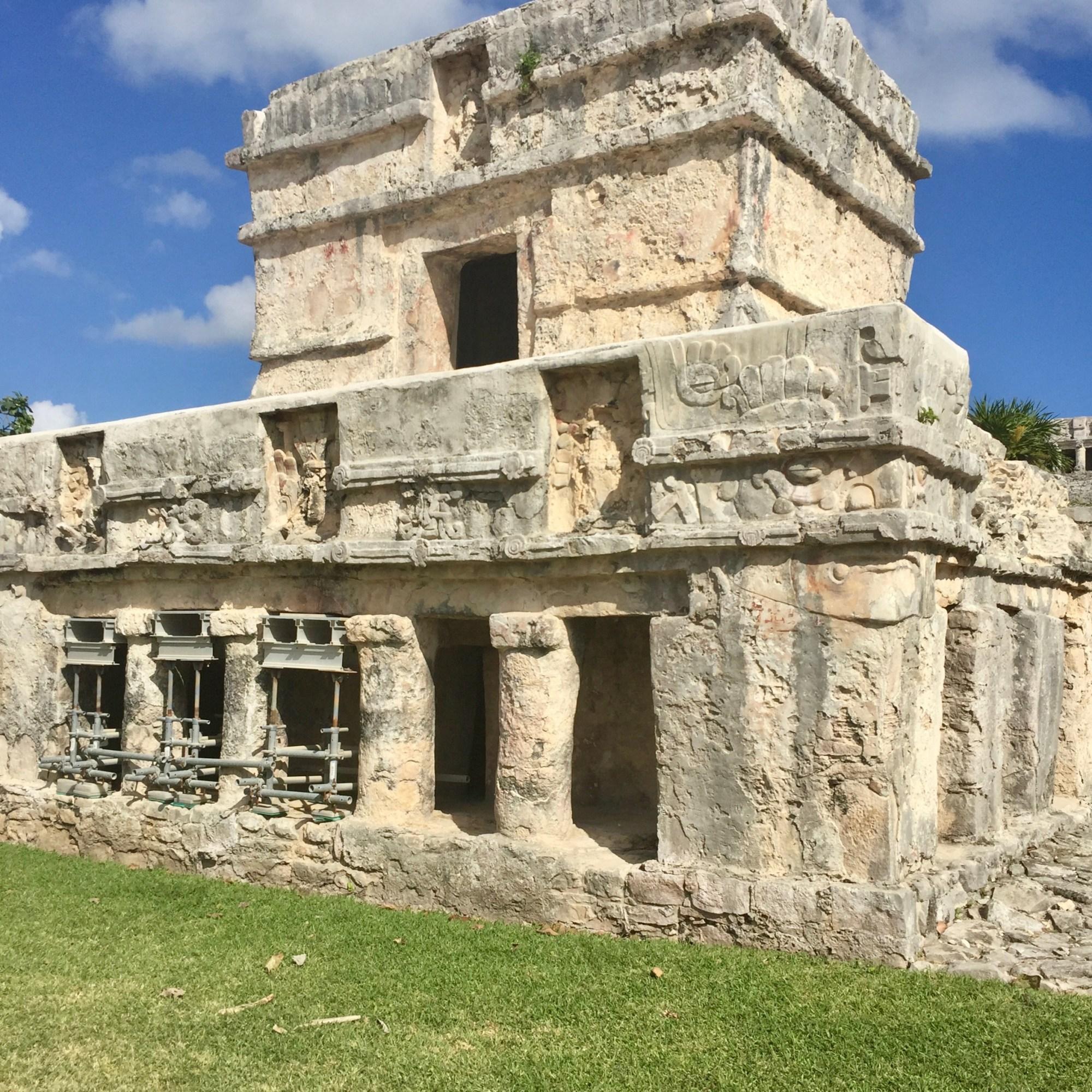 Touring Tulum Ruins