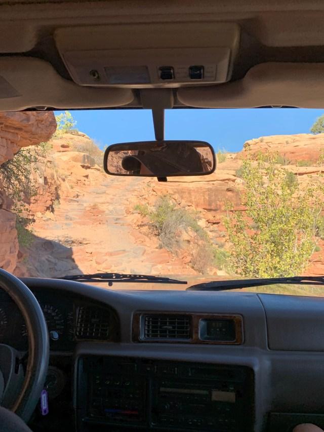 Elephant Hill Road Canyonlands
