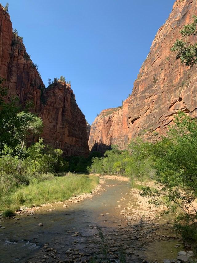 Riverside Walk and Zion Narrows