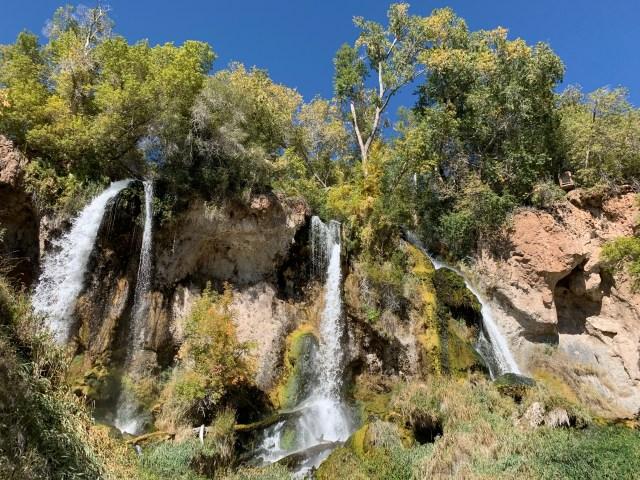 Rifle Falls Colorado