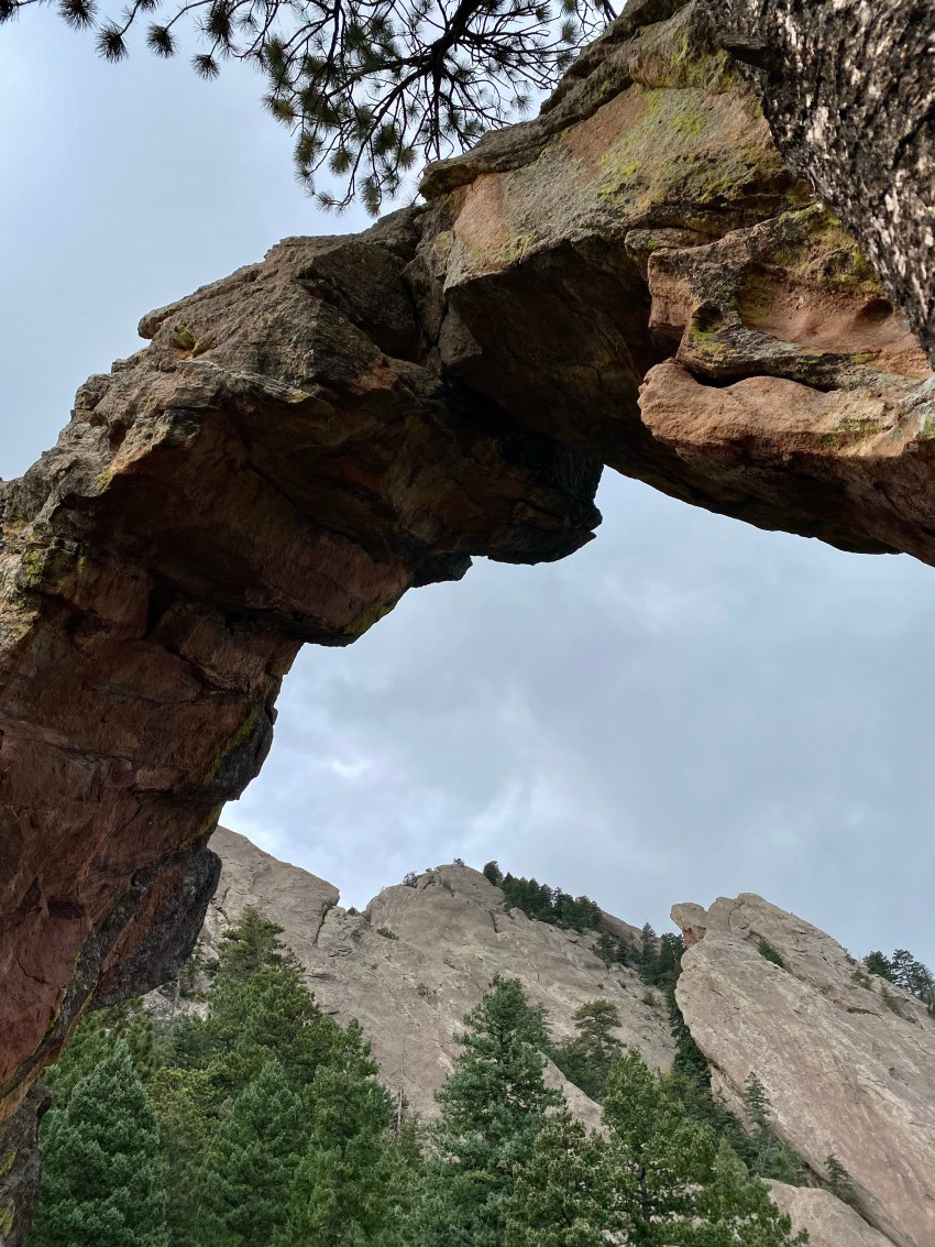 Royal Arch Trail Boulder