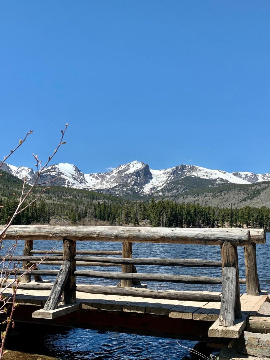 Hike Sprague Lake, Colorado-RMNP