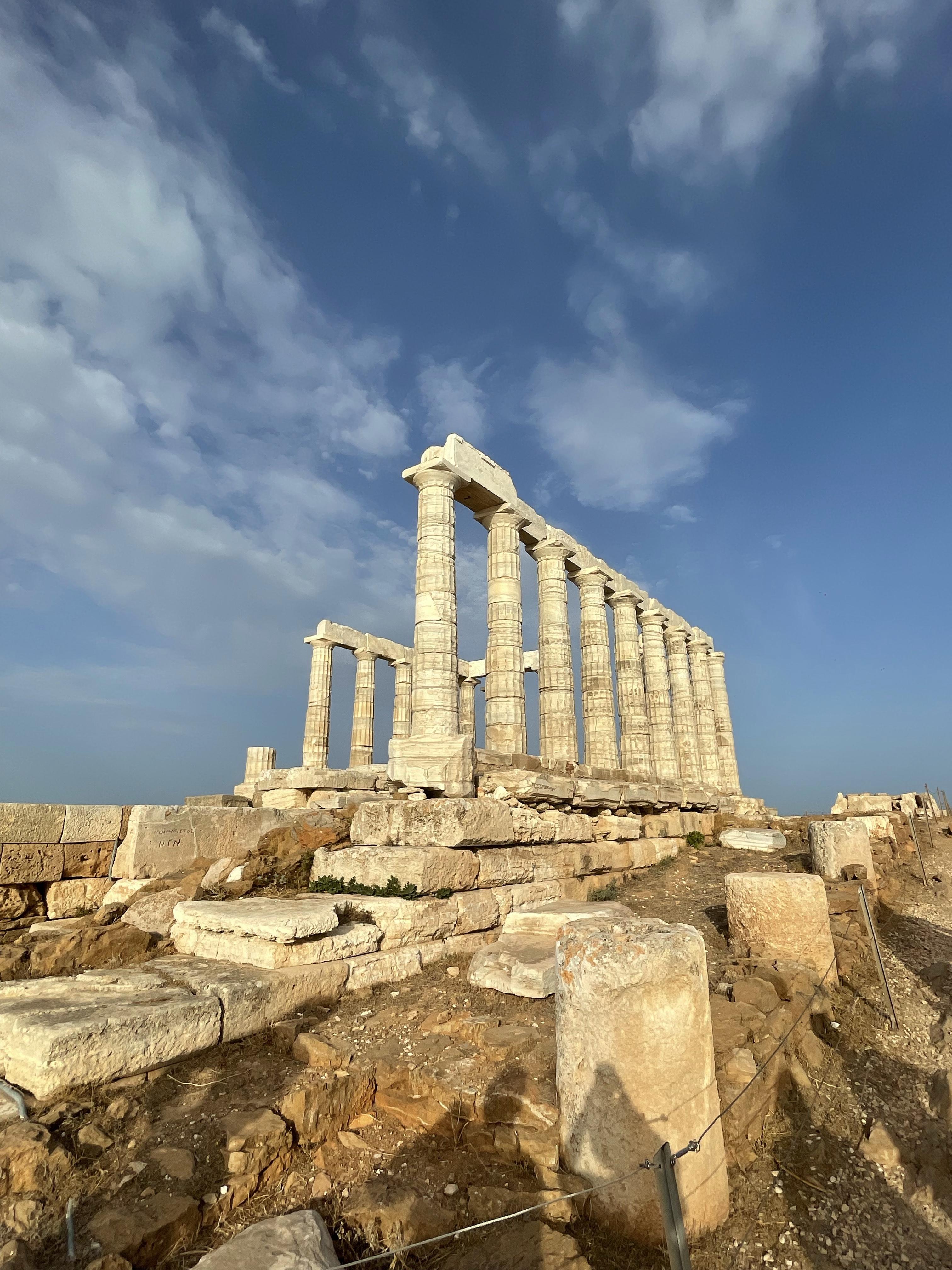 Tour the Temple of Poseidon