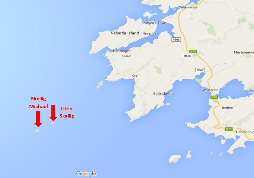 Skellig map