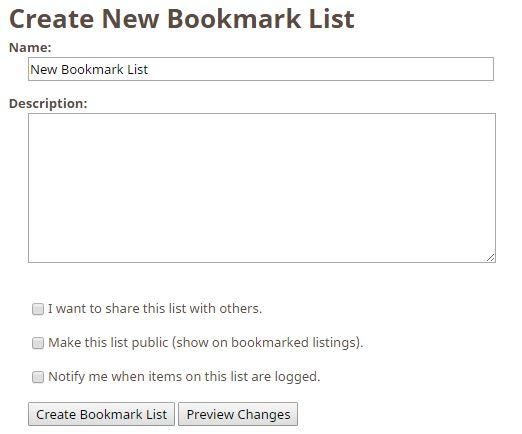 bookmark list 2