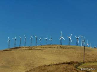 Wind Energy outside of San Francisco, California