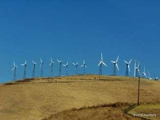 Wind Energy outside of San Francisco, California