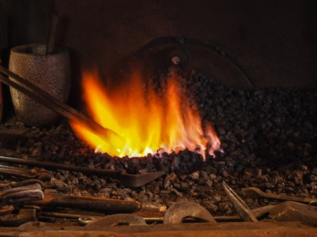 Fire in the forge