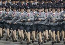 North Korean Army parade