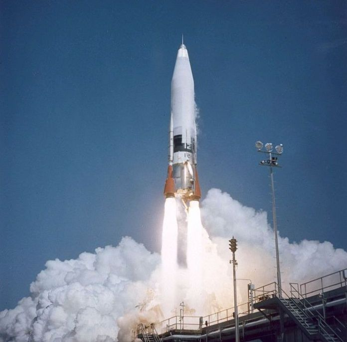 Atlas Missile launching