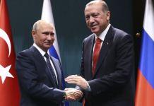 President Erdogan and Putin