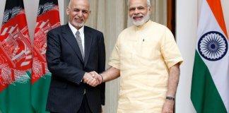 President Ashraf Ghani and PM Narendra Modi
