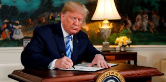 President Donald Trump scrapping of Iran Deal