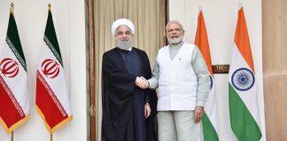 President Hassan Rouhani and PM Narendra Modi