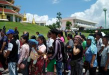 Thai refugees