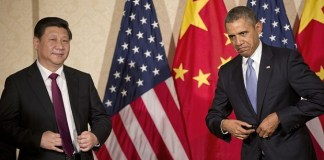 President Xi Jinping and Barack Obama