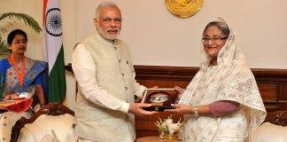 PM Narendra Modi and PM Sheikh Hasina