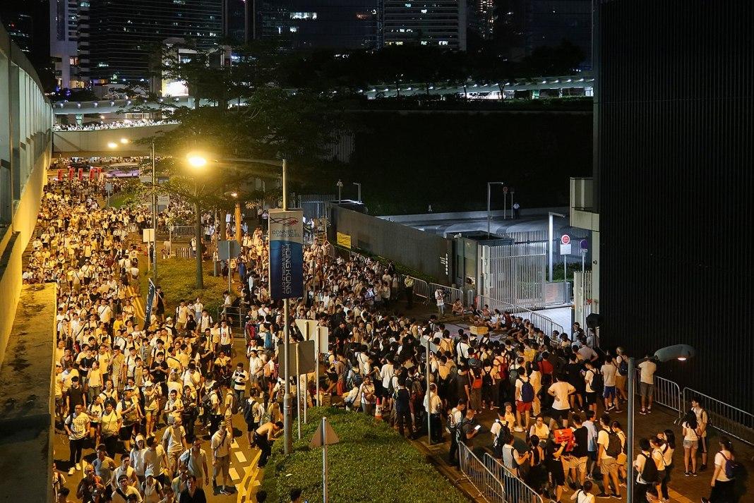 Hong Kong anti-extradition bill protests