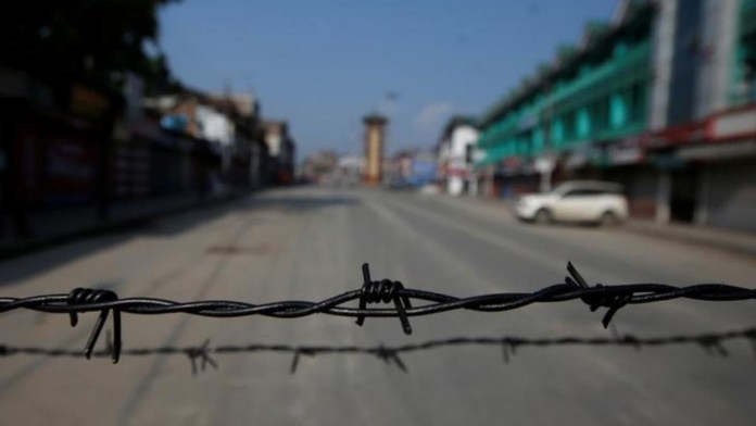 Jammu and Kashmir Locked Down