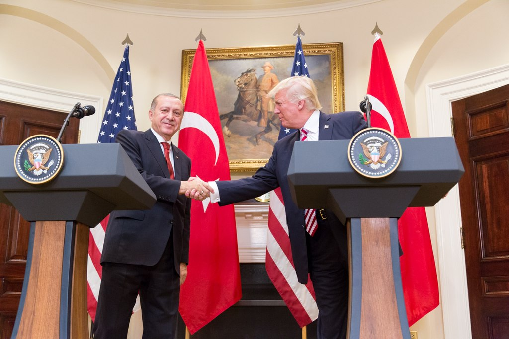 President Donald Trump and President Erdoğan