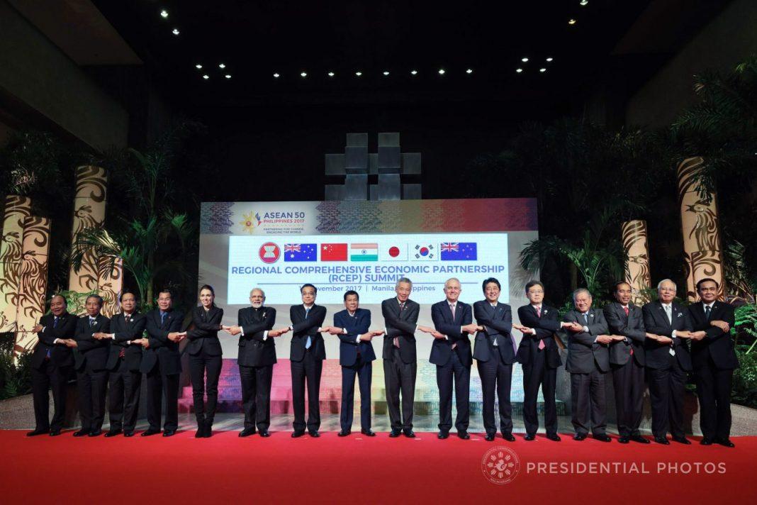 Regional Comprehensive Economic Partnership Summit (RCEP) in Manila, Philippines